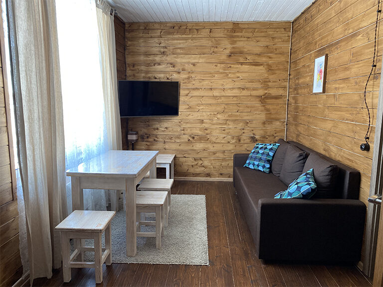 Домик с двумя спальнями (одноэтажный)1