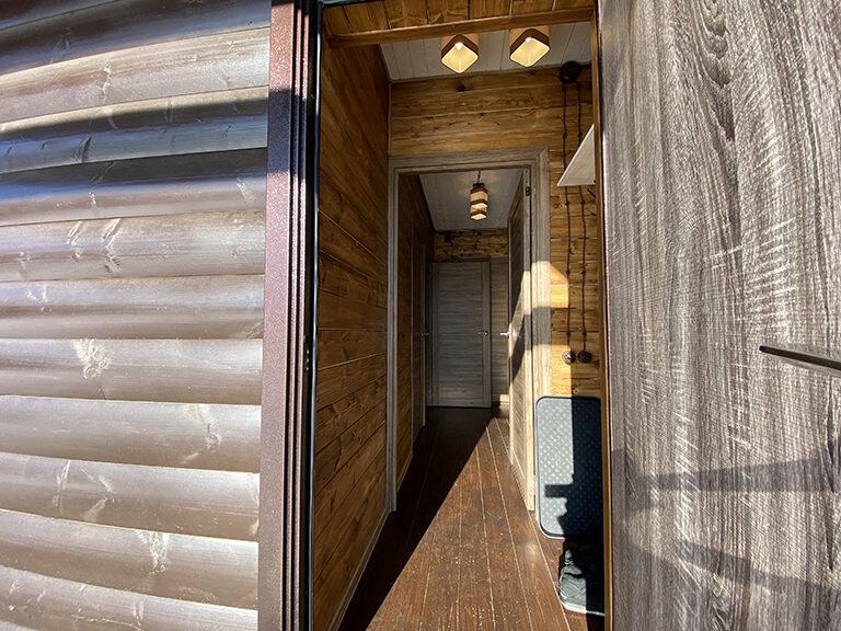 Домик с двумя спальнями (одноэтажный)10