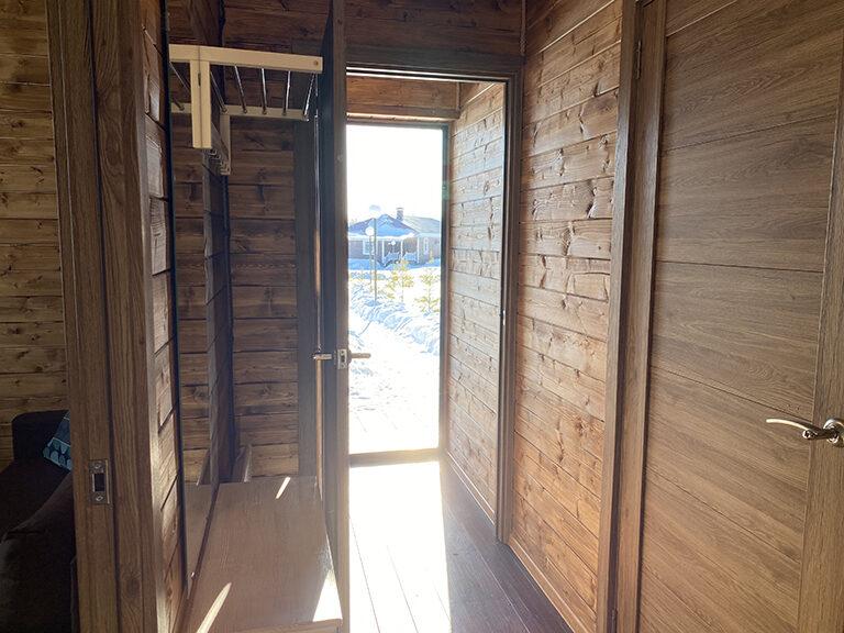 Домик с двумя спальнями (одноэтажный)11