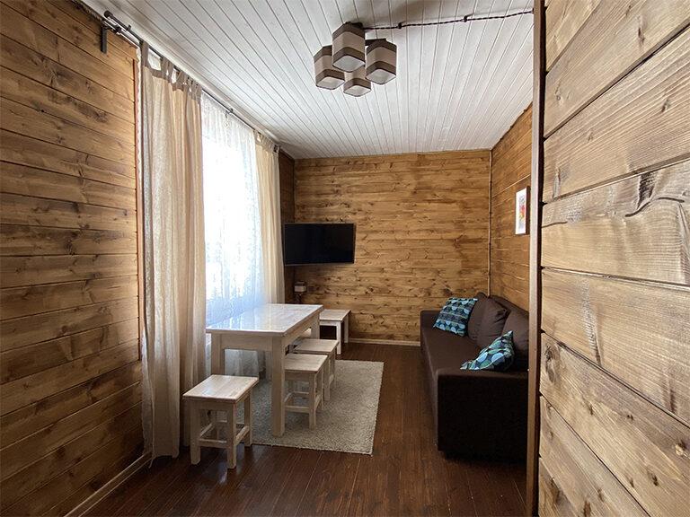 Домик с двумя спальнями (одноэтажный)2