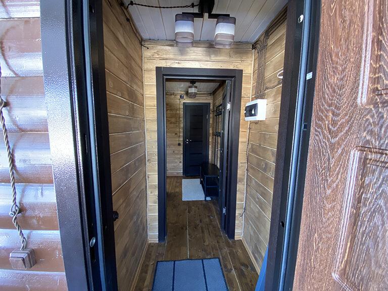 Домик с одной спальней (одноэтажный)2