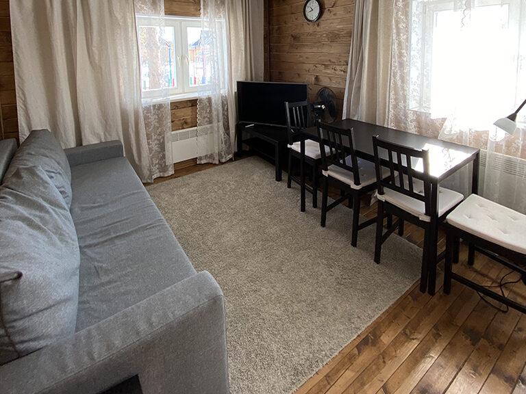 Домик с одной спальней (одноэтажный)4